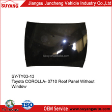 Corolla Iron Roof Panel Japanese Toyota Car Auto Body Parts