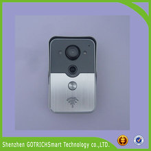 2015 Home Security Smart Home Wifi Connected Video Doorbell Multi Family Doorbell Camera With Recording Photograph Function
