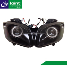 For Yamaha YZF-R15 HID Projector Headlight Devil Eye Eagle Eye Projector Headlight for Motorcycles