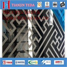 1mm thick mirror etching stainless steel plate 316