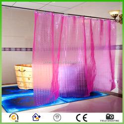 Eco-friendly shower curtain waterproof bathroom curtain