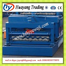 trapezoidal roof tile glazed type cold roll forming machine made in China