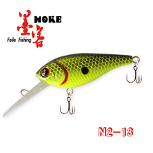 Hot-selling 8cm/6.2g bait lures, colorful fishing gear ,stainless steel hook