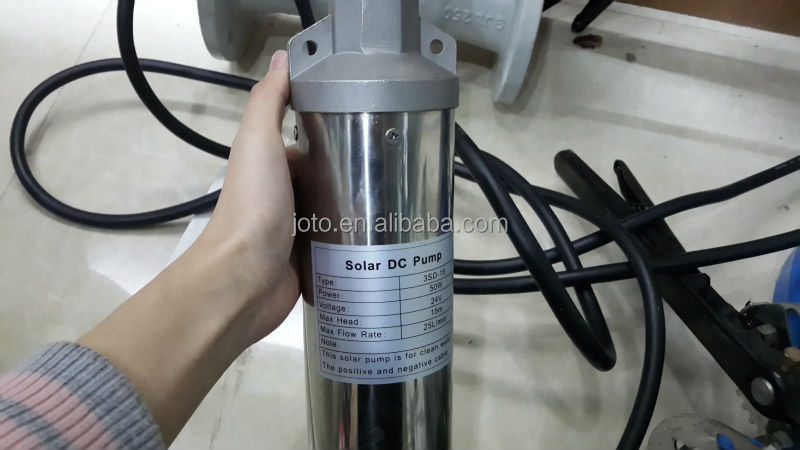 4SK2/26-1.5 Large Flow Cast Iron Mini Solar Centrifugal Submersible Pump /water pump