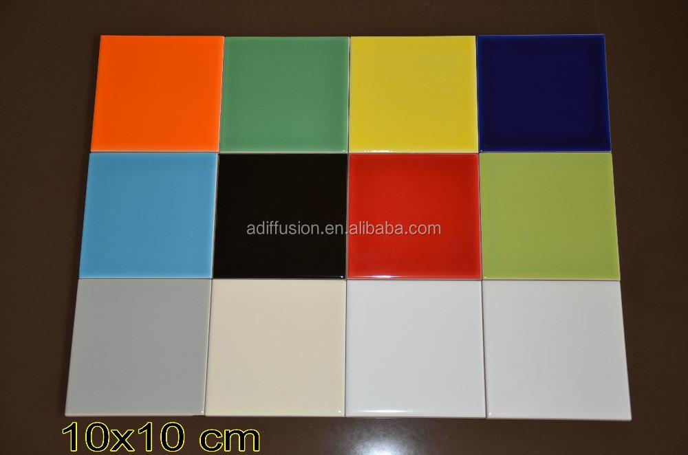 10 x 10 15 x 15 20 x 20 7 5 x 15 cm blanc en c ramique for Carrelage mural 15x15