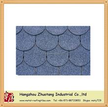 round asphalt shingle /fish scale asphalt shingle