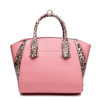 2015 new products fashion wholesale fashion women PU leather handbag manufacturer