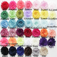 "High Quality 2.5"" Chiffon Shabby Rose Trim Shabby Chic Flower Trim Stock Free Shipping Cost by Express"