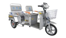 Loncin folding adult electric tricycle for cargo or passenger