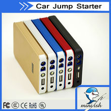 Best Selling Products 8000mAh 400A 12V Emergency Tools Mini Jump Starter Reviews For gasoline and diesel Car