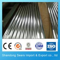H260BD+Z corrugated galvanized steel sheet asbestos free roofing sheet