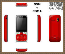 CDMA 800mhz CDMA+GSM mobile phones dual cards dual standby