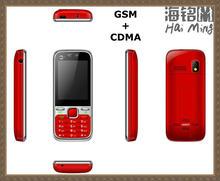 CDMA 800mhz CDMA+GSM mobile phones dual cards dual standby