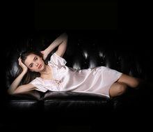 Pijamas de seda atractivos