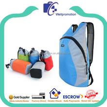 wellpromtion hot selling promotional teens folding bike backpack
