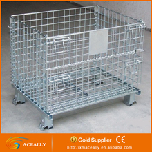 ACeally CE Certified Warehouse Durable Storage Steel Cage Pallet