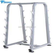Hot Sale Luxury Free Weight Machine QD-F45 Commercial Barbell Stand, Barbell Rack