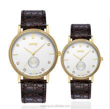 Brand Watches Men Women Fashion crystal clock fashion couple watch black luxury rhinestone Diamond watches