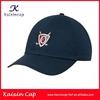 navy blue golf cap embroidery logo out door golf cap