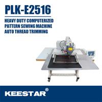 Keestar PLK-E2516 computer automatic flat bed mitsubishi industrial sewing machine