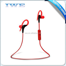 mobile phone accessories wholesale 2015 stereo sport bluetooth headset with rechargable battery