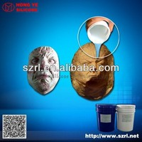 Addition cure life casting silicone rubber for mask making