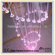 fiber optic fitting decorative end light chandelier crystal