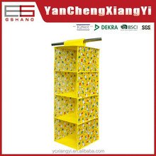 Foldable 6 shelf Mesh Hanging Toy Organizer for sundries