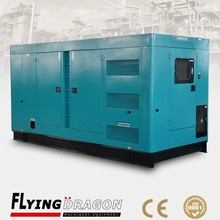 350 kw silent type industry use power gensets diesel, 437.5 kva Volvo pena TAD1344GE electric generator price list
