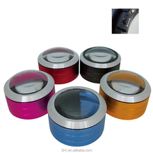 Aluminum material base reading portable led magnifier