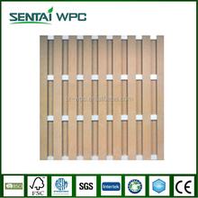 Anti-UV environmental engineered bamboo composite fencing
