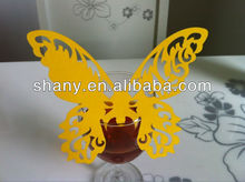 Hot sale wedding&party lovely butterfly seat place card