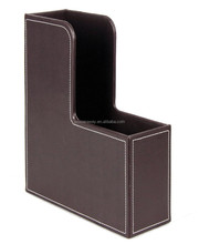 Chinese supplier Handmade Leather Accordion File Folders for A4 Folder