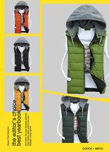 wholesales 2014 new style fashion denim vest for men/ casual vest