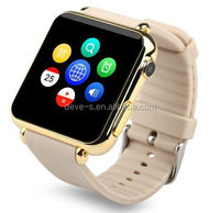 Stainless steel smart watch phone with sim card slot camera bluetooth men wrist watch and phone free shipping