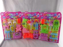 kids furniture play set toy plastic doll house preschool toy