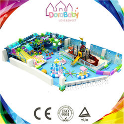 Fashionable fantastic indoor playground design, indoor equipment playground