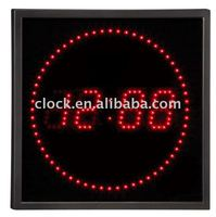 Led digital Wall clock JB-40644 RED LED CLOCK
