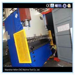 WC67Y 100t 2500mm hydraulic press brake price with estun e200 system