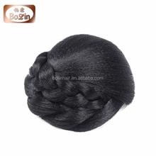 Hot Sale Natural Chignon Hair Pieces Bun Virgin Unprocessed 100% Indian