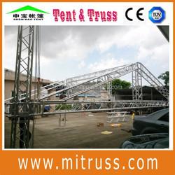 New design portable aluminum truss structure house for sale