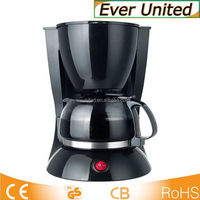 Low price promotional short coffee maker