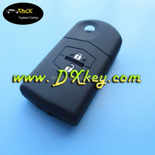 High quality 2 buttons rubber silicon key cover for mazda M2,M3,M5,M6,M8 key case mazda silicone remote key cover