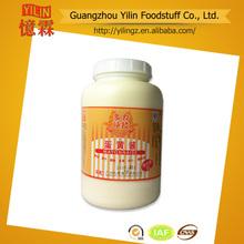 precio competitivo 3l el paquete de barril de la mayonesa y aderezo fabricante chino con certificados haccp y laiso