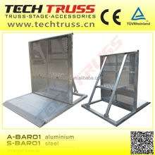 A-Bar01 Use Aluminum material Folding straight barrier , crowd control barrier