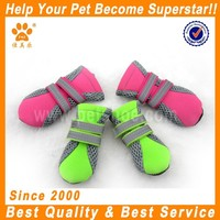 JML Hot Sale Wholesale Factory Price Colorful Breathable Pet Boot Lovely Dog Shoes