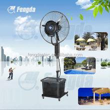 hot sale fog fan, 26ST standing water mist fan and industrial humidifier