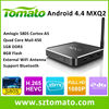 Android S805 MXQ pre-installed XBMC Android TV Box H.265 HEVC H 265 iptv Server Set Top Box
