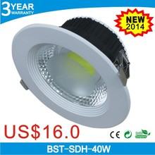 factory promotion 40w recessed downlight adjustable,40w led downlight,led downlight 30w