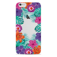 Colorful custom design case for iphone6/6S cover with uv coating